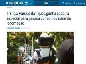Matéria no Jornal O GLOBO – 31/01/2017
