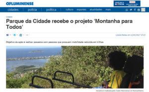 Matéria no Jornal O Fluminense – 12/02/2017