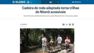 Matéria no Jornal O Globo – 18/02/2017