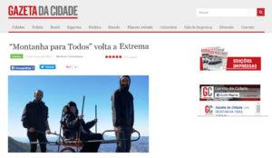 Matéria no Jornal Gazeta da Cidade – 11/03/2017