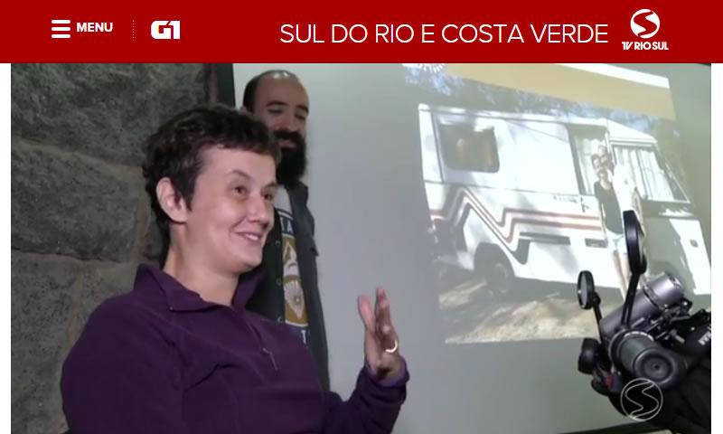 Reportagem na TV Rio Sul