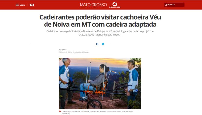 Matéria da TV Centro América