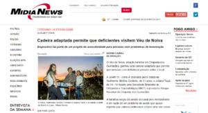 Matéria no MídiaNews – 25/06/2017