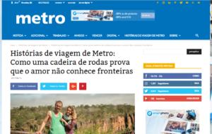 Matéria no Jornal Metro (da Bélgica) – 15/06/2017