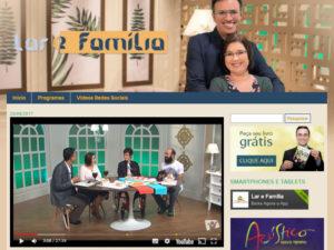 Entrevista para o Programa Lar e Família – 27/09/2017